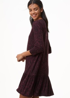 Petite Vine Flounce Dress