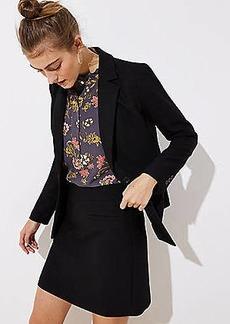 LOFT Petite Welt Pocket Shift Skirt