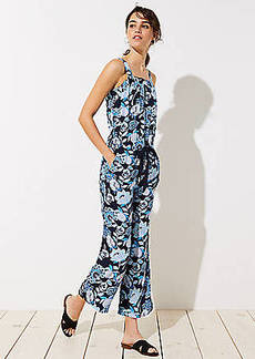 LOFT Pineapple Dream Jumpsuit
