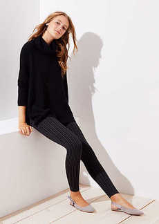 LOFT Leggings in Pinstripe