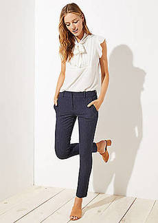 LOFT Pinstripe Skinny Pants in Marisa Fit