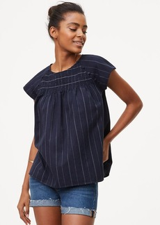 Pinstriped Sailor Top