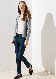 LOFT Plaid Skinny Pants in Marisa Fit