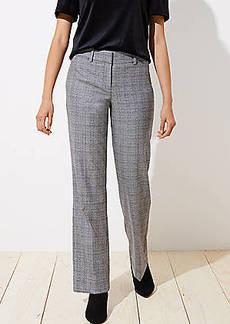 LOFT Plaid Trousers in Julie Fit