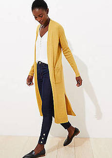 LOFT Pocket Duster Sweater