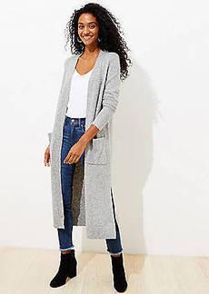 LOFT Pocket Duster Sweater