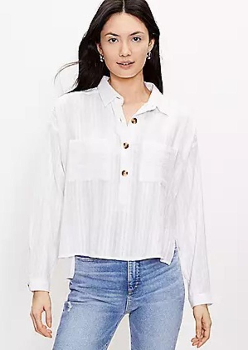 LOFT Pocket Henley Shirt