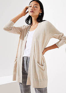 LOFT Pocket Open Cardigan