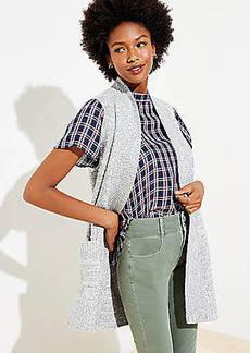 LOFT Pocket Open Sweater Vest