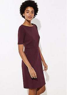 LOFT Pocket Sheath Dress