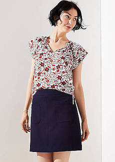 LOFT Pocket Shift Skirt