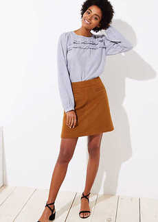 LOFT Pocket Shift Skirt