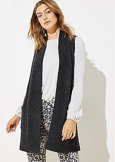 LOFT Pocket Sweater Vest