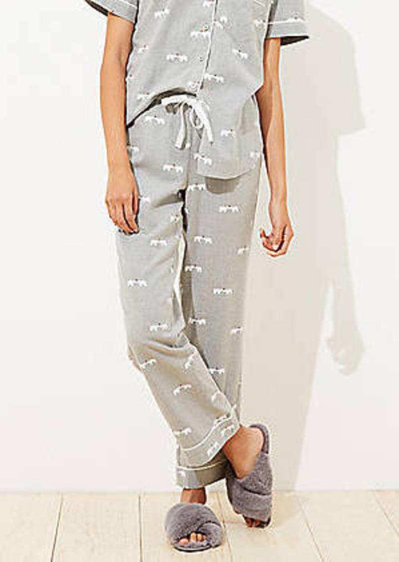 LOFT Polar Bear Pajama Pants