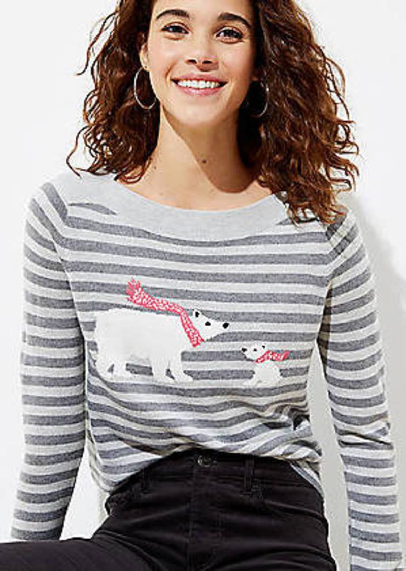 LOFT Polar Bear Sweater