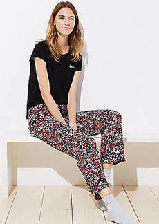 LOFT Primrose Pajama Pants