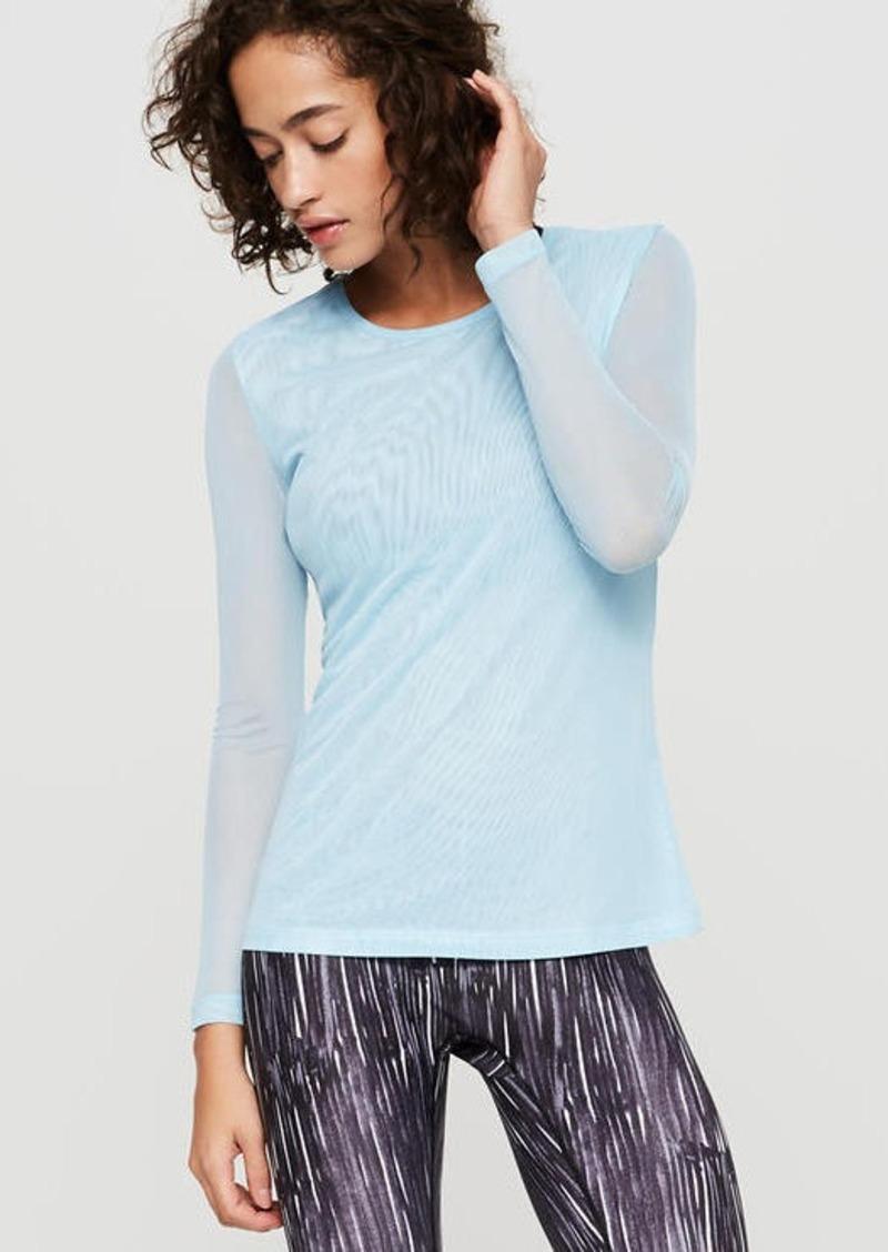 e20b96efa63 LOFT Prismsport x Lou & Grey Mesh Shirt | Casual Shirts
