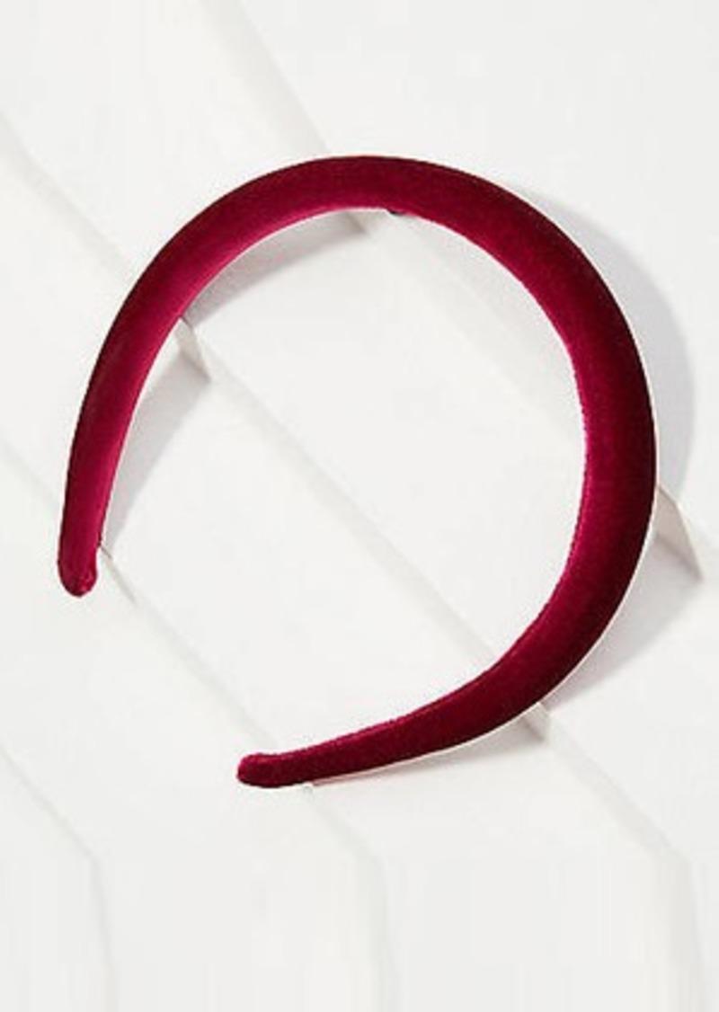 LOFT Puffed Velvet Headband