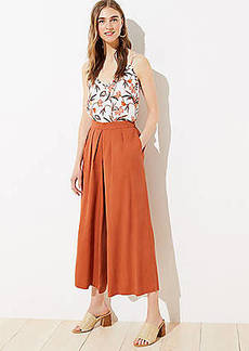 LOFT Pull On Culottes