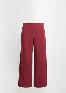LOFT Pull On Wide Leg Pants
