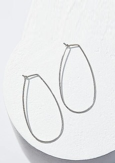 LOFT Pull Through Oval Hoop Earrings