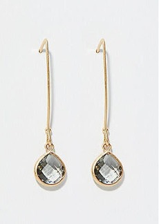 LOFT Pull Through Stone Drop Earrings