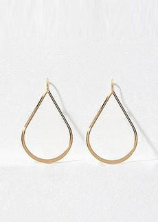LOFT Pull Thru Teardrop Earrings
