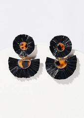 LOFT Raffia Drop Earrings