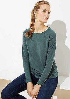 LOFT Raglan Long Sleeve Tee