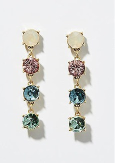 LOFT Rainbow Crystal Drop Earrings