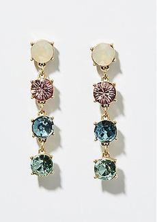 LOFT Rainbow Crystal Drop Earrings