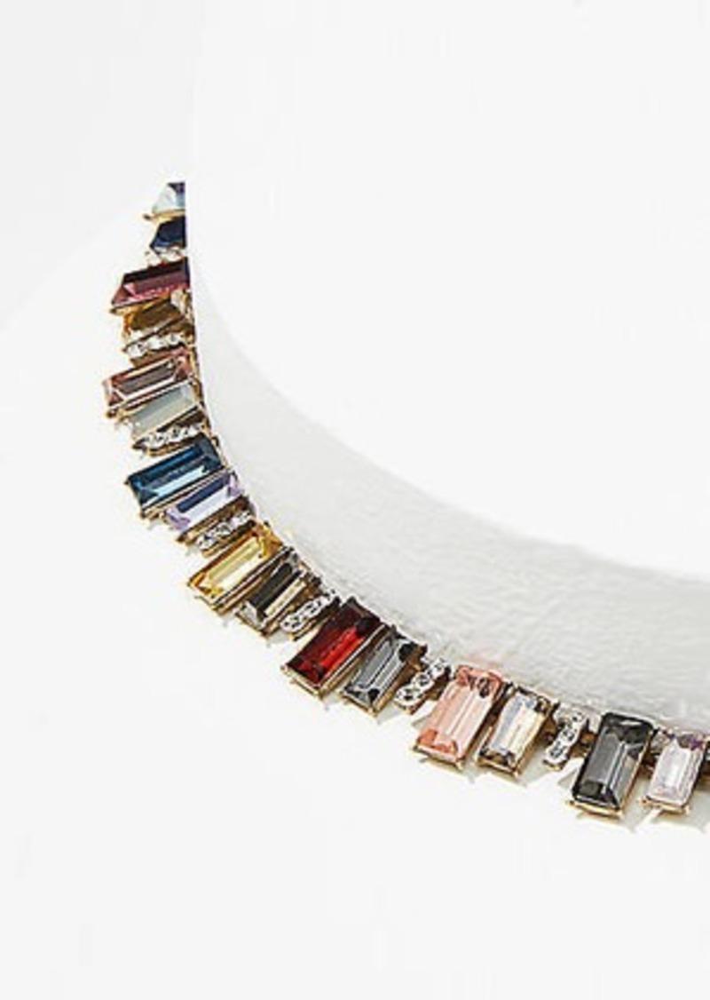 LOFT Rainbow Statement Necklace