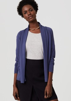LOFT Refined Open Cardigan