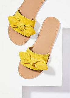 LOFT Refined Slide Bow Sandal