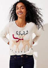 LOFT Reindeer Sweater