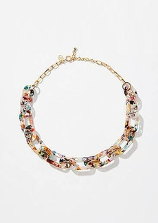 LOFT Resin Chain Link Necklace