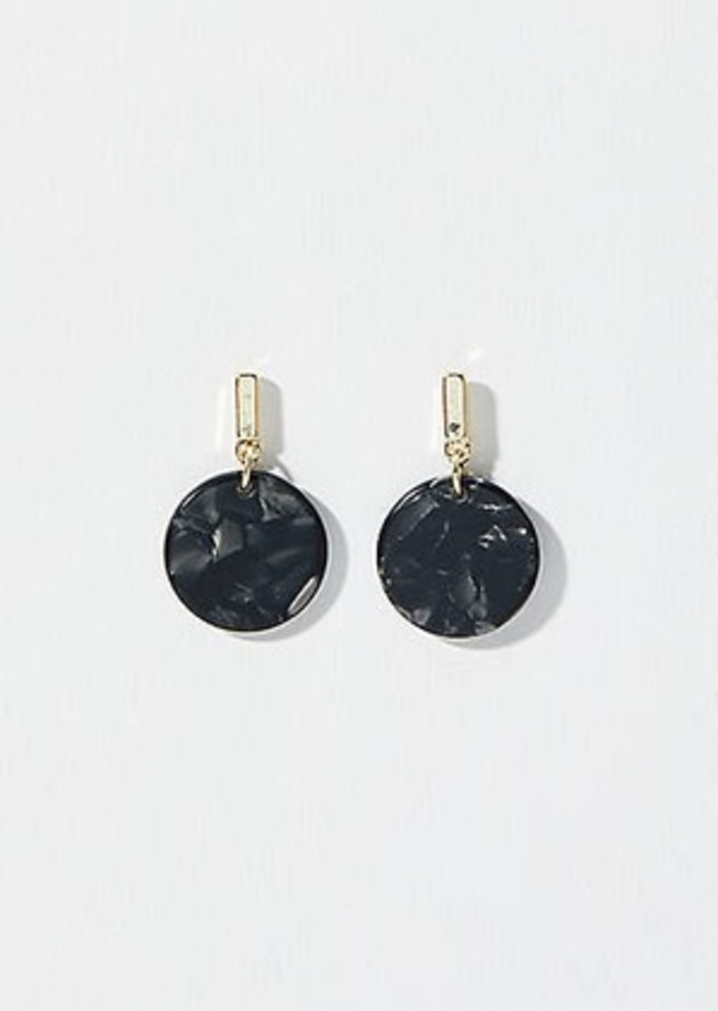 LOFT Resin Disc Drop Earrings