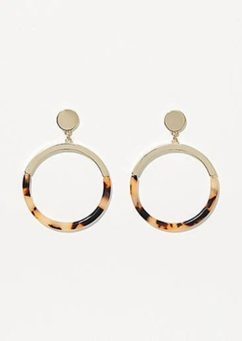 LOFT Resin Drop Earrings