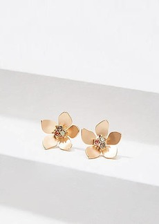 LOFT Resin Flower Drop Earrings