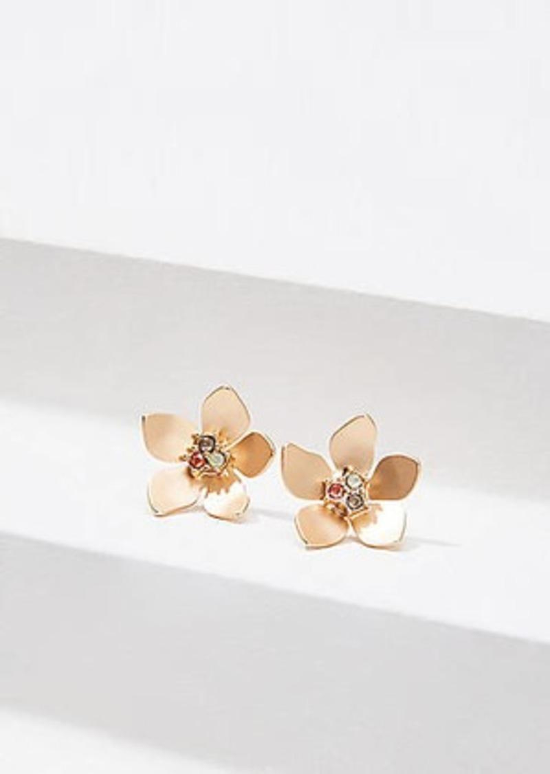 LOFT Resin Flower Drop Earrings