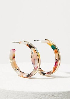 LOFT Resin Hoop Earrings