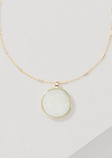 LOFT Reversible Glitter Pendant Necklace