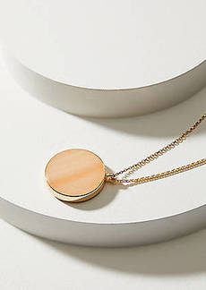 LOFT Reversible Stone Pendant Necklace