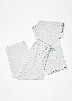 LOFT Ribbed Pajama Set