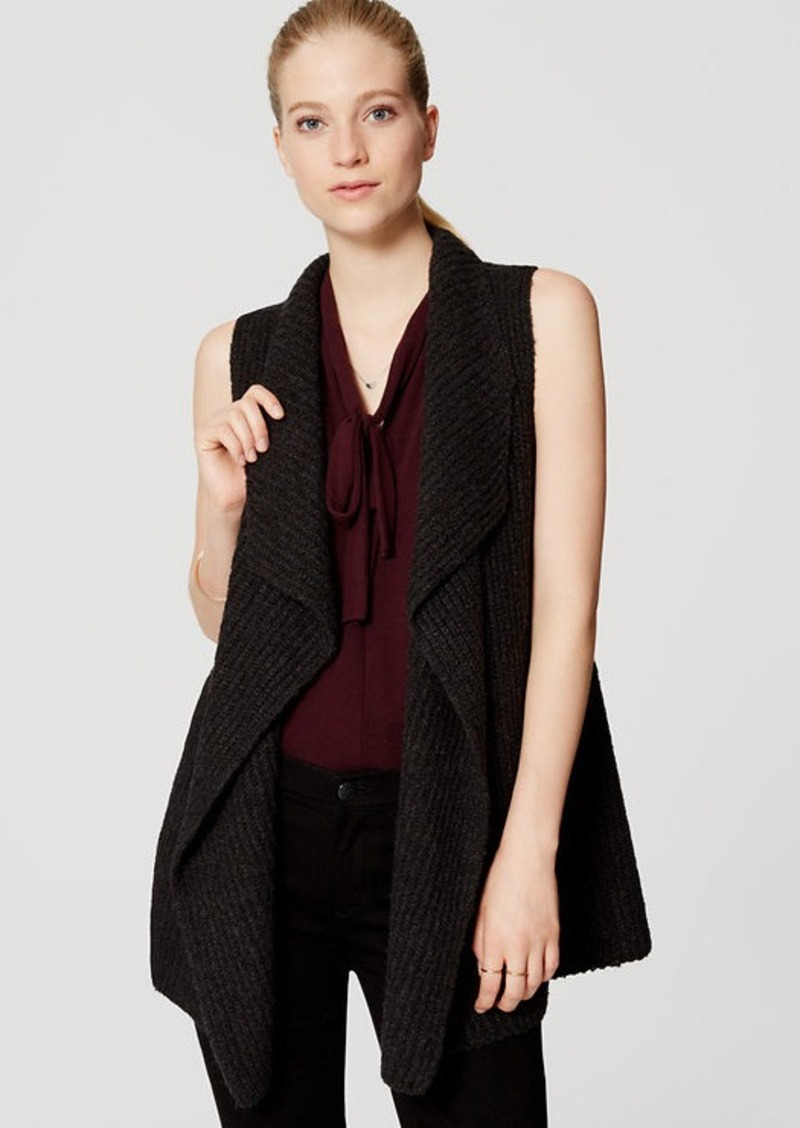LOFT Ribbed Sweater Vest | Sweaters - Shop It To Me