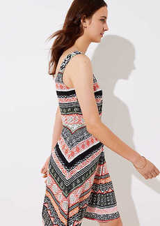 LOFT Riverwalk Flare Dress