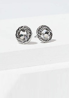 LOFT Rope Crystal Stud Earrings Set