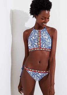LOFT Beach Luau Halter Bikini Top