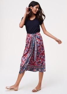 Rose Garden Wrap Skirt