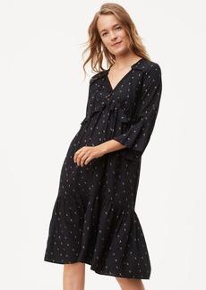 Rosebud Flounce Dress